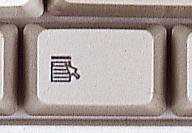 Klawisz aplikacja na klawiaturze