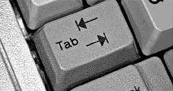 Klawisz TAB