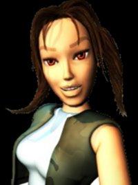 Lara Croft w wieku 16 lat