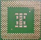 Zdjęcie procesora Pentium 3 - widok z dołu