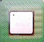 Zdjęcie procesora Pentium 4 - widok z góry