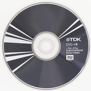 Płyta TDK z powłoką Scratchproof