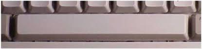 Klawisz spacji na klawiaturze