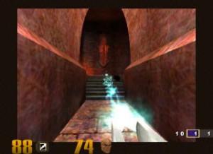 Broń zwana spawarką w grze Quake