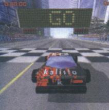 Po zastosowaniu efektu wyznaczania cieni - pojazd ma swój cień, a scena stała się bardziej realistyczna